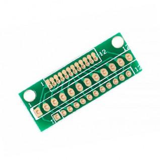 Макетная плата адаптер 1.27 мм. 2.0 мм. 2.54 мм.