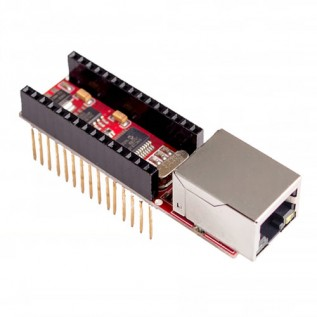 Arduino Nano шилд - ENC28J60
