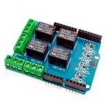 Arduino UNO-MEGA 4-релейный шилд
