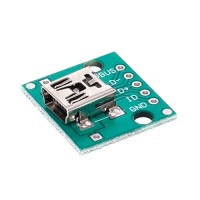 Адаптер mini USB на DIP