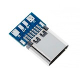 Разъем USB Type-C гнездо на плате (4 контакта)