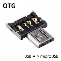 Адаптер OTG USB-A 2.0 в microUSB