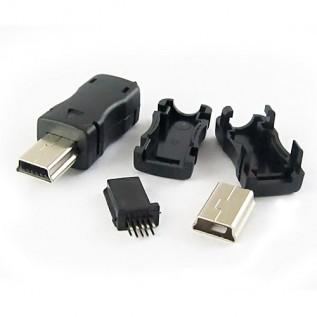 Разъем mini USB 10 контактов