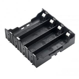 Отсек батарейный 4 x 18650 на плату