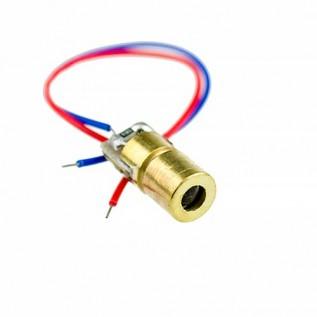 Излучатель лазерный 650 нм 5 мВт (красный)