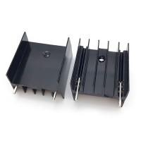 Радиатор алюминиевый TO-220 25x23x16 мм.