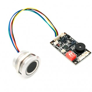 Сканер отпечатка пальца R503 с контроллером К200 5V (4хАА)