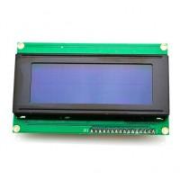 Дисплей 4x20 с интерфейсом I2C синий