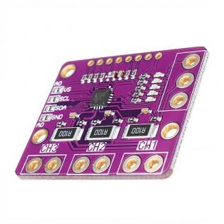 INA3221 - 3 канальный датчик тока и напряжения