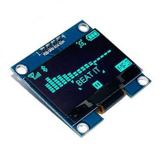 """Дисплей OLED 128x64 1.3"""" I2C голубой"""