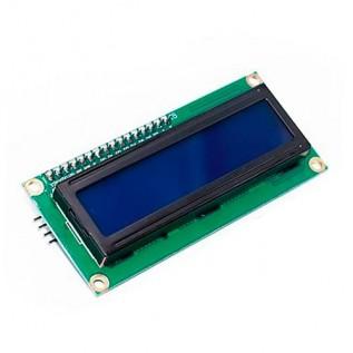 Дисплей 2x16 -1602A с интерфейсом I2C синий