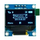 """Дисплей OLED 128x64 0.96"""" I2C голубой"""