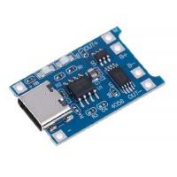 Модуль заряда литиевой батареи с защитой USB Type-С