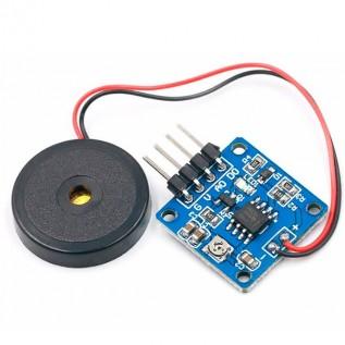 Пьезоэлектрический датчик вибрации на LM393