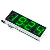 Модуль часов светодиодный зеленый 10 мм. (DS1302)