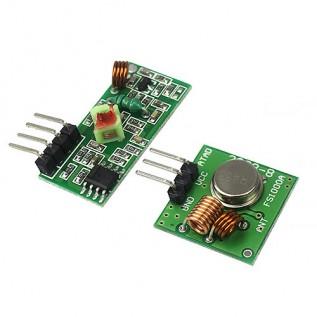 433Mhz - АМ приемник, передатчик