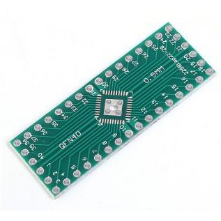Макетная плата адаптер QFN 32/40 на DIP32/40