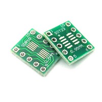 Макетная плата адаптер SOT23 MSOP10 DIP10