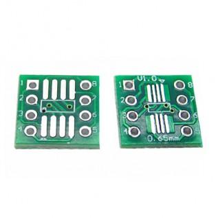 Макетная плата адаптер SOP8 SSOP8 TSSOP8 DIP8