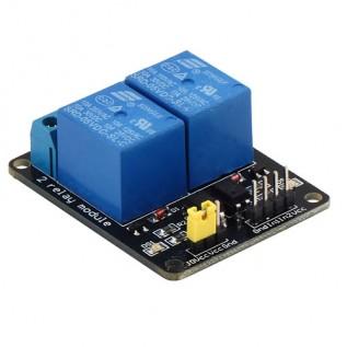 Релейный модуль 5 вольт 2 канала