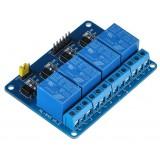 Релейный модуль 5 вольт 4 канала
