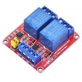 Релейный модуль 5 вольт 2 канала (опто)