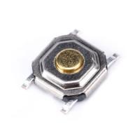 Кнопка тактовая SMD 5.2x5.2x1.5 мм.