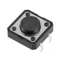 Кнопка тактовая 12x12x5 мм.